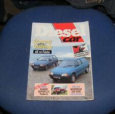 DIESEL CAR ISSUE 18 MARCH 1990 - AX vs FIESTA/205/FIESTA VAN/RANGE ROVER 2.5