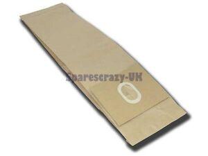 Para Electrolux UZ164 Bolsas de Papel Aspiradora 5 Paquete