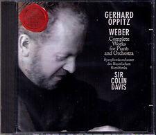 Gerhard OPPITZ: WEBER Piano Concerto 1 2 Polonaise COLIN DAVIS CD Klavierkonzert
