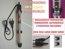 CALENTADOR 25W 50W 100W 200W 300W Termocalentador acuario pecera sumergible