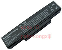 + NEW 4400Mah Battery For MSI BTY-M66 BTY-M67 BTY-M68 SQU-529 SQU-718 SQU-601
