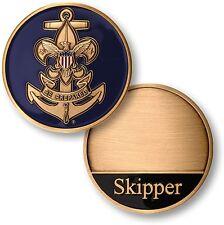 NEW Boy Scouts Sea Scouts Skipper Challenge Coin. 79050.