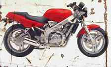 Honda Hawk GT 1991 Aged Vintage SIGN A3 LARGE Retro