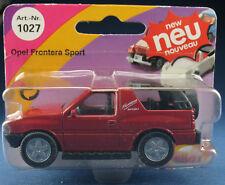 SIKU 1027 - Opel Frontera Sport - hell-braunrot- Neu in Blister -OVP- Modellauto