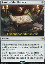 Scroll of the Masters (pergamino el maestro) Fate Reforged Magic