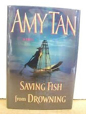 Saving Fish from Drowning by Amy Tan 2005 HB/DJ *Signed First Printing*