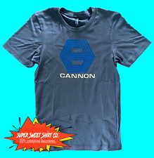 Cannon Films Shirt 100% cotton t-shirt Action Movies Charles Bronson Norris