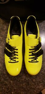 NEW without box. Giro Factor Techlace. Fluoro Yellow. 44