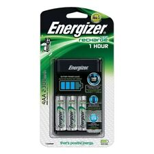 Energizer 1 Hour AA/ AAA Battery Charger + 4 x AA Rechargeable Batteries 2300mAh