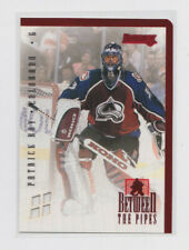 1996-97 Donruss Between The Pipes #1 Patrick Roy /4000 Colorado Avalanche