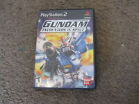 CIB Playstation Gundam Encounters in Space w/ instruction & Case Complete PS2