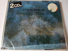 NEW Various Artists : Claude Debussy 2 CDs Piano Works/String Quartet Sealed