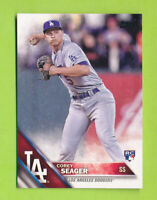 2016 Topps Hort Print Fielding - Corey Seager (#85)  Los Angeles Dodgers