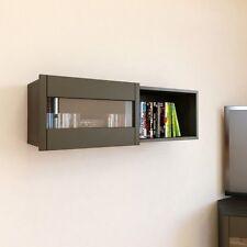 Nexera Wall Shelf W/Sliding Door- 102637 Floating Shelves NEW