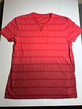 Calvin klein Pink 2XL Two Tone Short Sleeved T-Shirt
