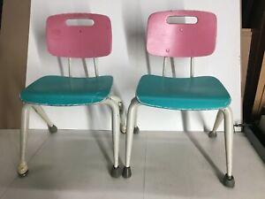 2 Small Vintage Brunswick Child Size Chairs