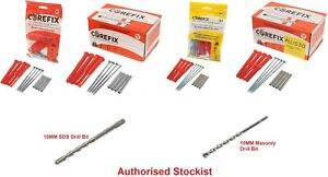 Corefix Heavy Duty Dot & Dab Plasterboard Fixing - All Variants & Pack Sizes