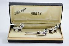 RARE VINTAGE SWANK PHOTOGRAPHERS CUFF LINKS AND TIE CLASP SET