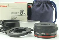 **Top Mint in Box** Canon Loupe Lupe 8x  Almost Unused From JAPAN