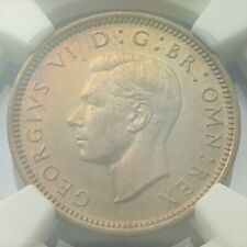 More details for 1952 king george vl ngc ms 63 sixpence, (only 16 coins higher grade by ngc).