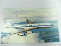 "Vintage Aviation Postcard - Air France Boeing 707 ""Intercontinental"" in Flight"