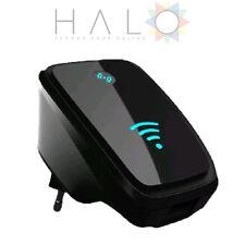 Ripetitore Wireless-N Wi-fi Repeater Segnale Amplificazione Router AP WPS Nero