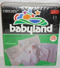Babyland Creative Afghan Kit Knit Or Crochet Make Choice Afghans Or Christening