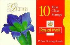 GB STAMP BOOKLET KX9,FLOWER PAINTINGS (Flower) 06/01/1997, Mint