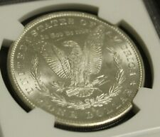 ⚡⚡⚡ 1880 S Morgan Silver Dollar MS63 NGC Very Flashy and Frosty Rare Coin NR