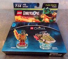 LEGO DIMENSIONS Legends of Chima Cragger Minifigure 3 in 1 Fun Pack  #71223 NIB