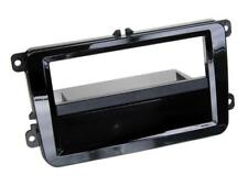 für VW Touran 1T  Auto Radio Blende Einbau Rahmen 1-DIN Klavierlack schwarz