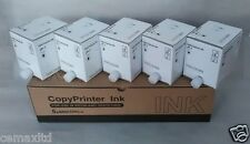 5 Compatible Inks Ricoh JP-7 JP730 JP750 JP755 JP780 DX2430 CPT5 Gestetner 5410
