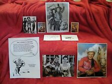 Roy Rogers, Bob Hope, Jane Russell Autographs (Son of Pale Face)