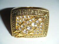 World Champions 1991 WASHINGTON REDSKINS Football Super Bowl XXVI Replica Ring