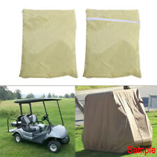 Waterproof Golf Cart Cover 4 Passenger Dustproof Storage for Ez Go Club Yamaha