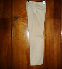 womens trousers Gap size 10 40 EU 6T camel khaki chinos tailored crop new tag