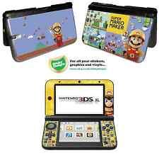 Super MARIO Autocollant Peau Vinyle maker pour Nintendo 3DS XL