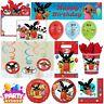 Bing Bunny & Friends Cartoon Party Birthday Tableware Supplies Balloon Decor UK