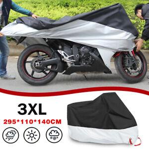 3XL Waterproof Outdoor Motorcycle Motorbike Cruiser Scooter Motor Bike Cover AU