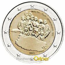 """2 Euro Sondermünze Malta 2013""""1921 Selbstverwaltung"""""""