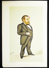 """Astronomy"" Richard Anthony Proctor Vanity Fair 1883 Leslie Ward VG+"