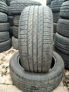 2x tyre 235/50/18 97V Hankook Dynapro Hp2 with 7mm and 7.2mm