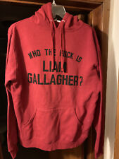 Who The F* Is Liam Gallagher? Promo Hoodie Sweatshirt Oasis (sz: M)