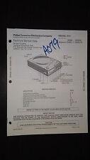 Magnavox cd6800 680 service manual walkman portable Compact disc cd player