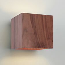 Astro 0399 E14 Cremona Wall Light Excluding 1 X 60 Watt 230 V Bulb Walnut