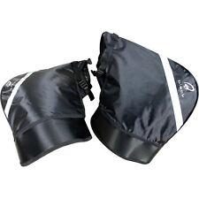Black Meta Motorcycle Motorbike Winter Thermal Windproof Universal Bar Muffs