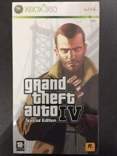 Xbox360 Xbox 360 Grand Theft Auto IV 4 Special Limited Collector's Edition ITA