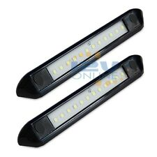 """2*LED 12V 10"""" Awning Light Bar RV Trailer Coach Boat Outdoor Canopy Roof Lamp"""