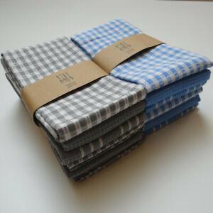 3Pcs Cotton Tea Towels Teatowels Kitchen Absorbent Dish Cloth Heavy Duty  65*45