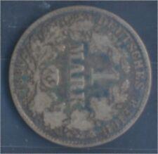 alemán Imperio Jägernr: 9 1881 h muy ya Plata 1881 1 marcos pequeños águ(7849027